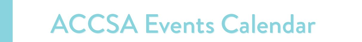 welcome to the events calendar
